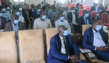 UNMISS south sudan political progress development revitalized peace agreement peace process durable peace Warrap Kuajok