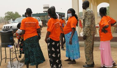unmiss south sudan aweil women political representation gender-based violence sustainable peace development