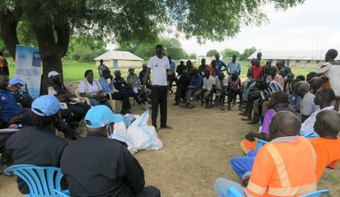 UNMISS protection of civilians South Sudan UNPOL police capacity building police community relations bor jonglei united nations peacekeeping peacekeepers
