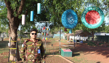 UNMISS UN Peacekeeping Bangladesh Youth Peace Security International Day of UN Peacekeepers peacekeeping South Sudan