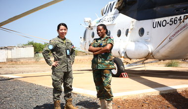 unmiss south sudan women in peacekeeping malakal