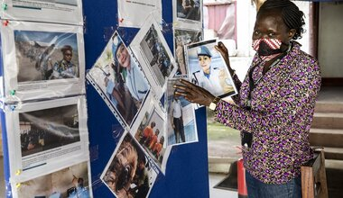 UNMISS gender affairs gender equality peacekeepers South Sudan peacekeeping UNSCR 1325