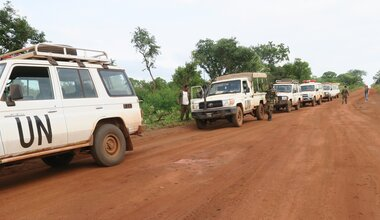 UNMISS protection of civilians ambushes displaced civilians peacekeepers South Sudan peacekeeping United Nations Western Equatoria