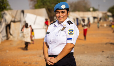 UNMISS COVID-19 peacekeepers peacekeeping South Sudan Women's Day Female Peacekeepers El Salvador