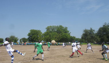 unmiss south sudan rajaf jondoru sports peace harmony engineering football field volleyball thailand nepal