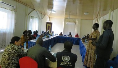 Bor Murle Dinka women agreement end fighting first meeting unmiss south sudan