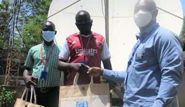 UNMISS social cohesion Radio Miraya Youth peace security South Sudan
