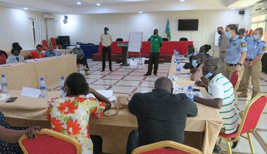 UNMISS capacity building UNPOL United Nations South Sudan police conflict sexual violence gender-based violence training of trainers