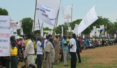 UNMISS Independence Day South Sudan Eastern Equatoria 10 years Peace Peacekeeping Peacekeepers United Nations
