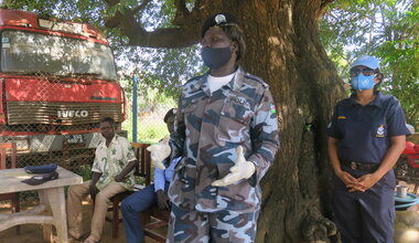 UNMISS protection of civilians women police SGBV CSRV peacekeepers South Sudan peacekeeping peacekeepers UNPOL Torit SSNPS
