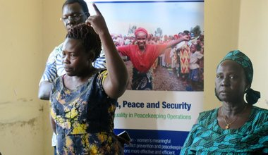 unmiss south sudan eastern equatoria women leadership conflict prevention