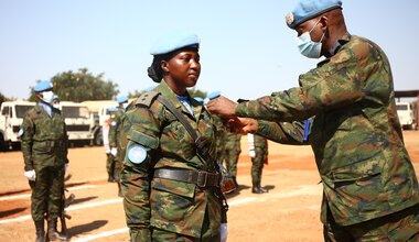 unmiss south sudan malakal rwanda wps women in peace and security gender equality un medals ceremony