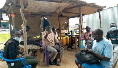 UNMISS South Sudan Peacekeepers Torit Peacekeeping Quick Impact Projects COVID19 Coronavirus