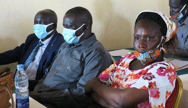 unmiss south sudan aweil northern bahr el ghazal state politicians leadership retreat peace agreement female political representation