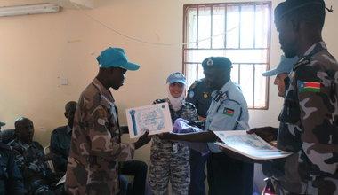 unmiss unpol south sudan torit kapoeta capacity building police