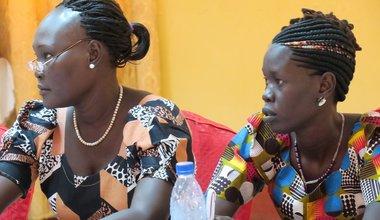 aweil warrap kuajok south sudan unmiss women rights participation