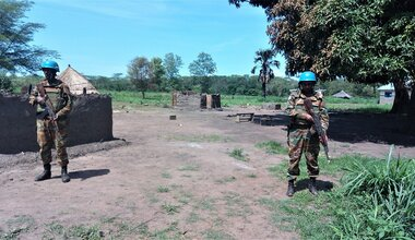 unmiss south sudan western equatoria state mundri bahar olo protection of civilians patrol deadly attack military barracks displaced persons