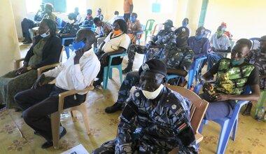 UNMISS protection of civilians UNPOL community policing Warrap south sudan