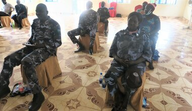 UNMISS protection of civilians UNPOL community policing law and order capacity building warrap