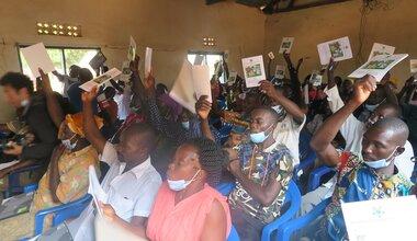 UNMISS protection of civilians dialogue peace forum peacekeeping Western Equatoria displaced civilians conflict