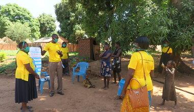 unmiss south sudan protection of civilians WHO humanitarian assistance COVID-19 coronavirus sensitization awareness-raising women women's groups Yambio peacekeeping