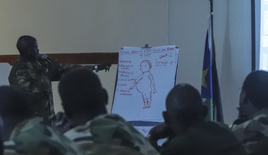 south sudan unmiss child protection child soldiers unicef dallaire initiative training national action plan sspdf