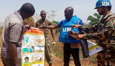 unmiss south sudan yei ebola preparedness drc congo screening force protection awareness campaign