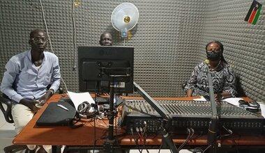 unmiss south sudan kuajok youth empowerment peacekeepers day radio talk show ceremony