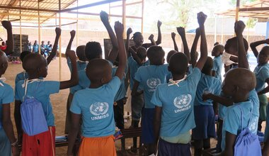 unmiss south sudan aweil street children mentoring school education