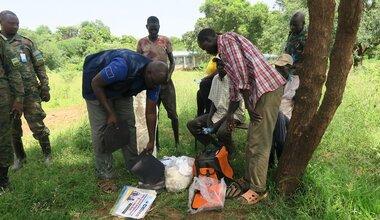 unmiss south sudan eastern equatoria lafon county local communities food security humanitarian partner ambush stolen goods recovered