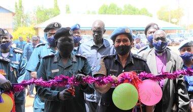 unmiss south sudan unpol qip police handover building