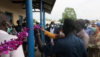unmiss south sudan unity state bentiu qip police station rule of law