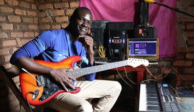 South Sudan Global Goals Youth Peace Security Development Western Equatoria Music Peacekeepers Day UN Peacekeepers