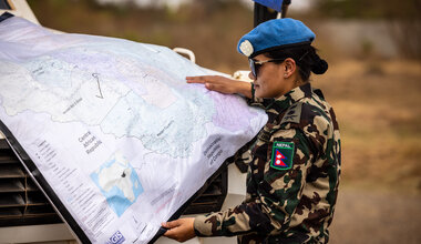 UNMISS protection of civilians peacekeepers South Sudan peacekeeping Nepal International Women's Day