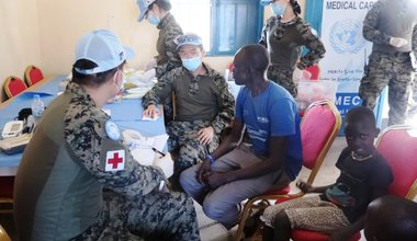 unmiss jonglei anyidi medical services south korea south sudan veterinary protection of civilians