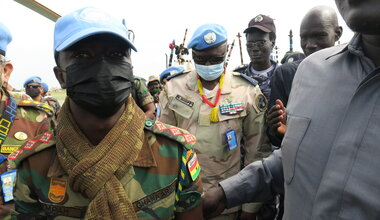 unmiss protection of civilians military adviser force commander koch unity state temporary base peacekeepers peacekeeping