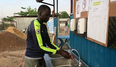 unmiss south sudan bentiu protection of civilians COVID-19 precautions WHO coronavirus social distancing handwashing
