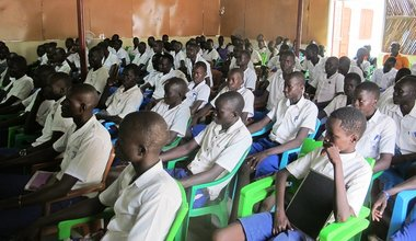 Rumbek teenagers say early and forced marriage threatens right to education in South Sudan UNPOL UNMISS