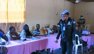 UNMISS protection of civilians UNPOL community policing law and order human rights torit eastern equatoria