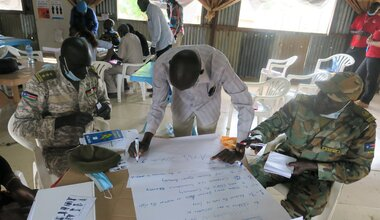unmiss child protection child rights peace peacekeeping south sudan peacekeepers UNPOL