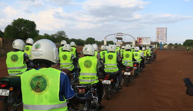 UNMISS protection of civilians road safety peacekeepers South Sudan peacekeeping Eastern Equatoria Boda Boda