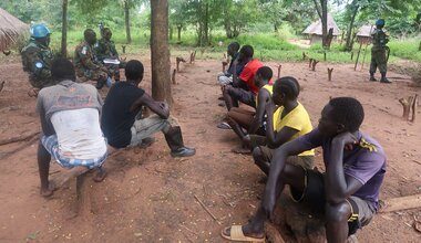 unmiss protection of civilians patrol peacekeepers united nations peacekeeping eastern equatoria torit