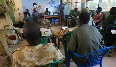 unmiss south sudan western equatoria child soldiers cantonment site nzara county