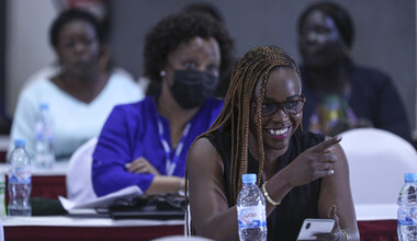 Working in partnership with the South Sudan Women's Empowerment Network and generous donors, the Mission hosted a two-day workshop for young women members of the reconstituted Transitional National Legislative Assembly to build their capacity.