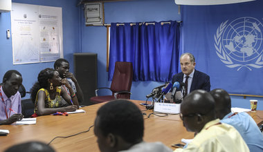 unmiss south sudan srsg special representative secretary-general juba press conference 9 march 2020
