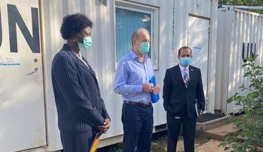unmiss south sudan protection of civilians radio coronavirus COVID-19 Radio Miraya school lessons peacekeepers peacekeeping