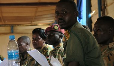unmiss south sudan sspdf child soldiers child protection workshop commitments reality