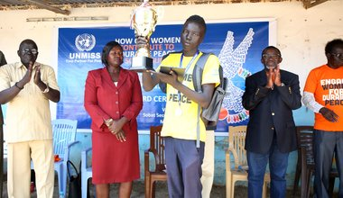Students speak out for women and durable peace in Upper Nile