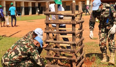 UNMISS south sudan youth peace security yei youth day volunteerism