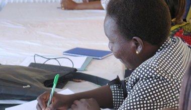 unmiss south sudan aweil women workshop
